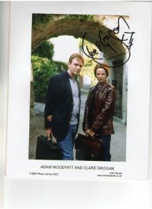Claire Grogan signed  star of Red Dwarf & Eastenders signed photo